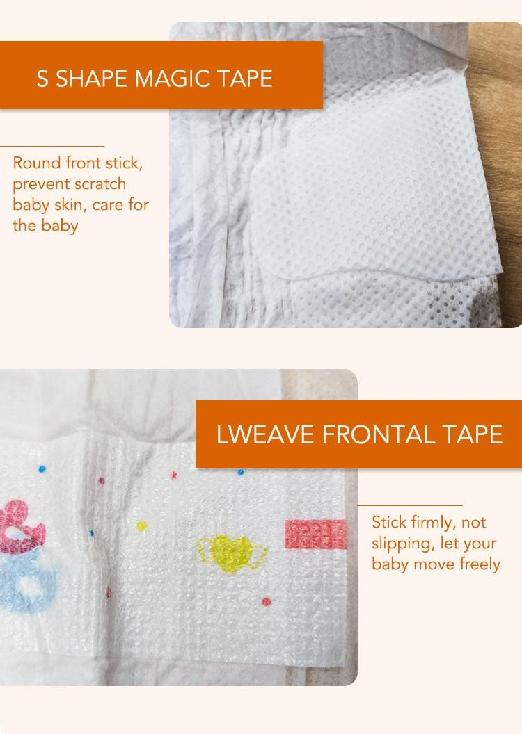 Niceday leak-proof baby diaper disposable for baby