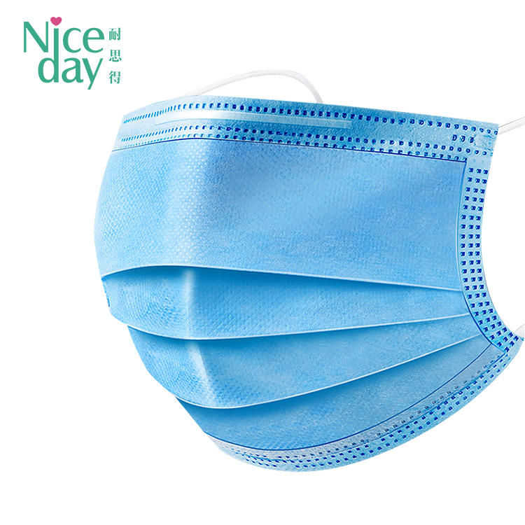 Disposable 3 ply breathable pollution protection face mask  ND-face mask-NICEDAY
