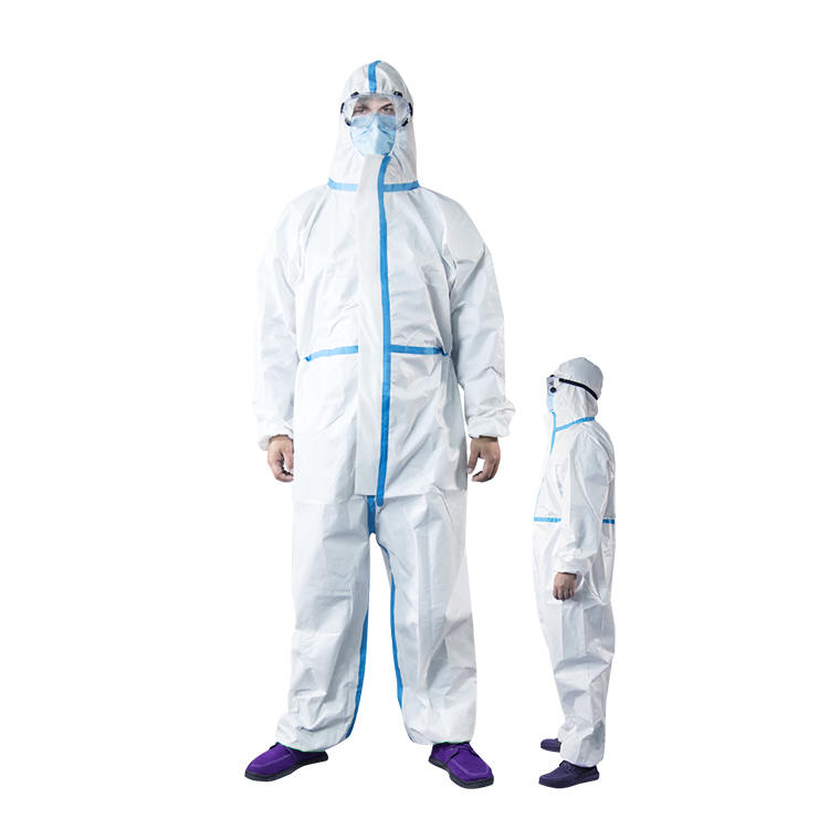 Disposable protective overall multi-purpose Protective Clothing Safety disposable workwear ND-Coverall-2 NICEDAY