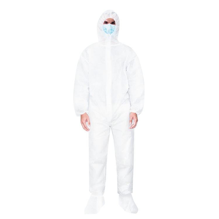 Microporous Protective Coverall Suit Disposable Protective Jumpsuit ND-Coverall-3 NICEDAY