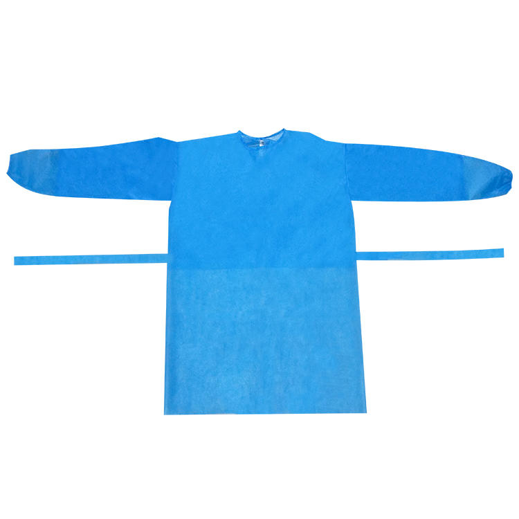 Disposable Protective Clothing soft Isolation Suit breathable Isolation Gown