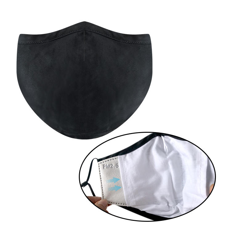 Eco reusable face mask PM2.5 filter chip washable mask