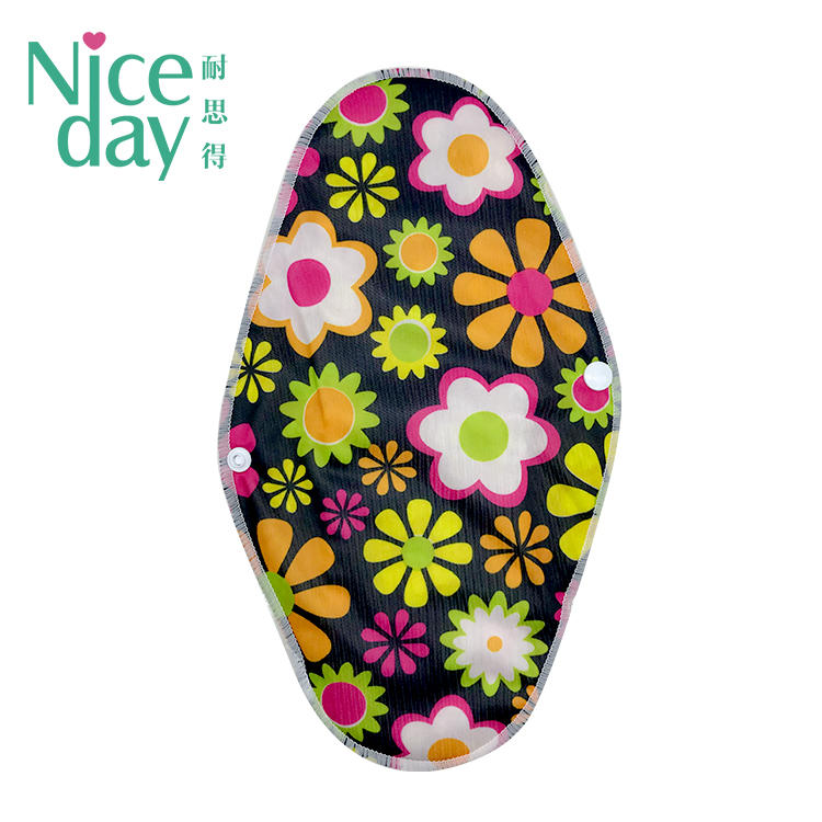 Eco-friendly washable sanitary napkins soft reusable menstrual pads-NICEDAY-RU-1-4