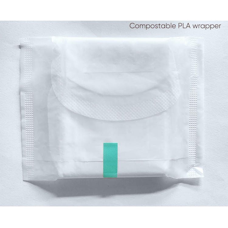 TCF Texas organic cotton bio sanitary pads factory NICEDAY-L-1
