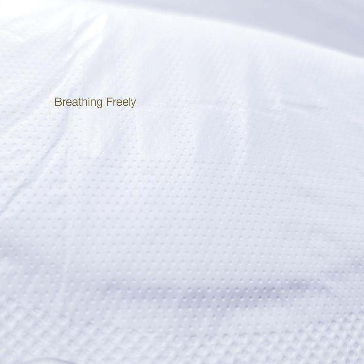 Overnight organic cotton sanitary towel with bamboo charcoal anion chip NICEDAY NDN-3-330