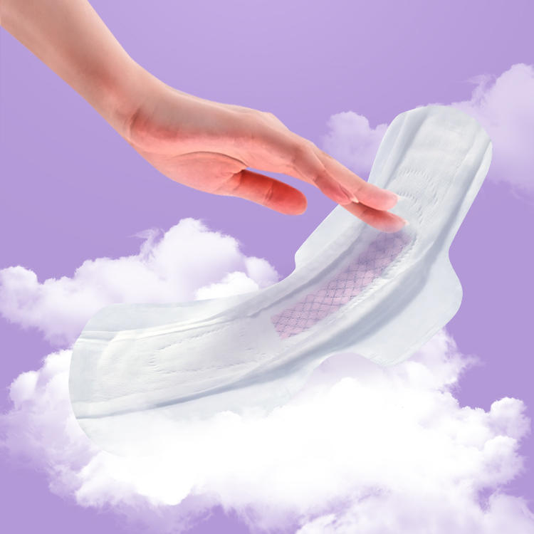 Wholesale ultra soft period pads graphene absorbent menstrual pads with wings NCEDAY NDN-4-360