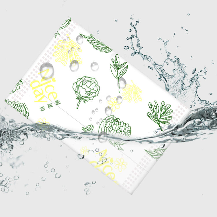 Ultra thin organic cotton panty liner with herbal NICEDAY NDN-7-155