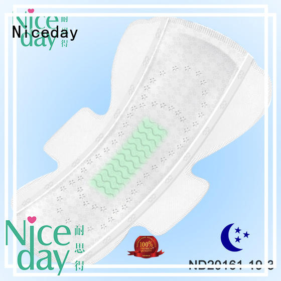 Niceday breathable women's sanitary napkins products for girls