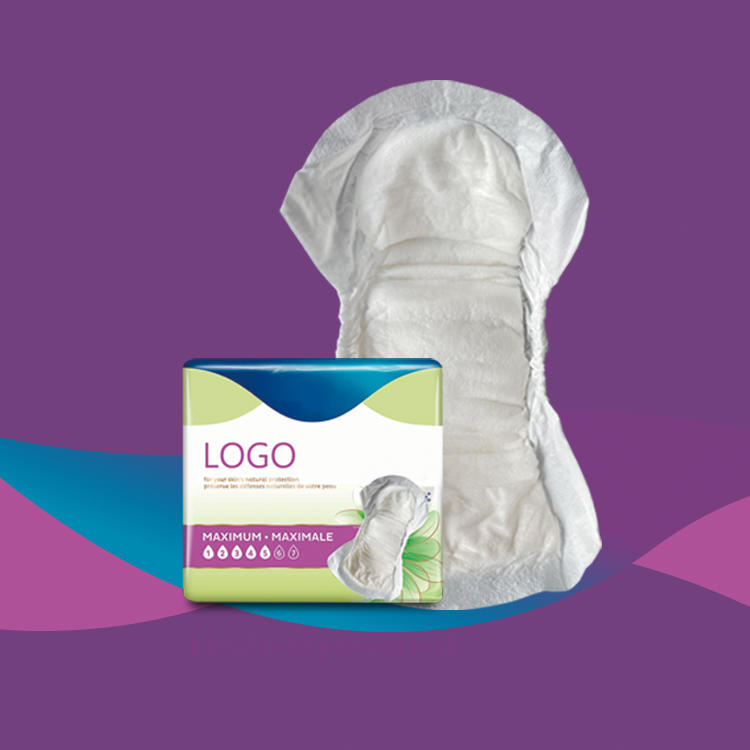 Disposable Incontinence/Bladder Control Pads for women moderate absorbency urinal pad Niceday-IP-W-1