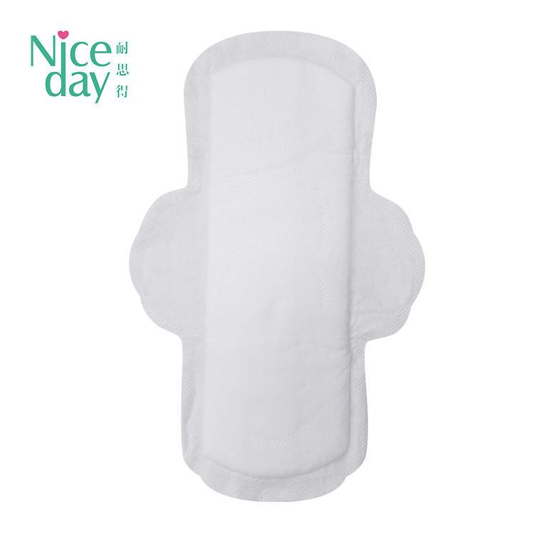 ompostable organic cotton/wood plup sanitary napkin 0% fragrance and chlorine menstrual pad