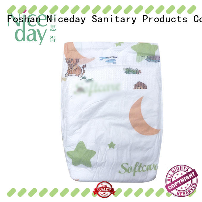 Niceday oem baby nappies order for baby girl