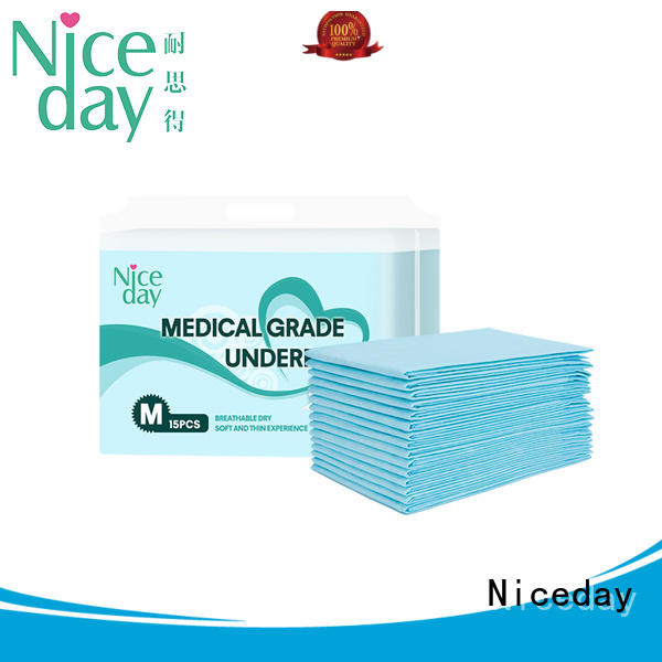 Niceday blue disposable incontinence bed pads inquire for adult