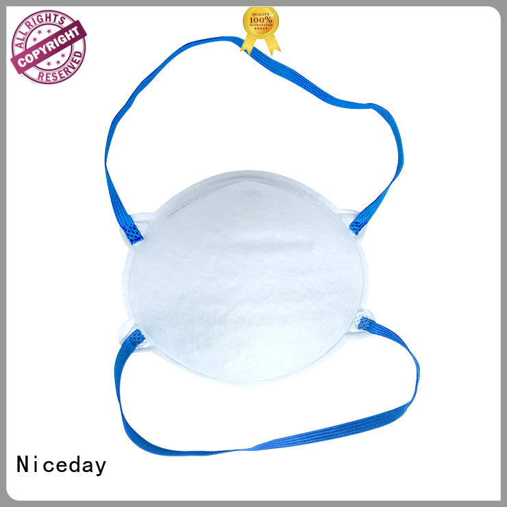 Niceday quaity disposable face mask manufacturer for pollution prevention