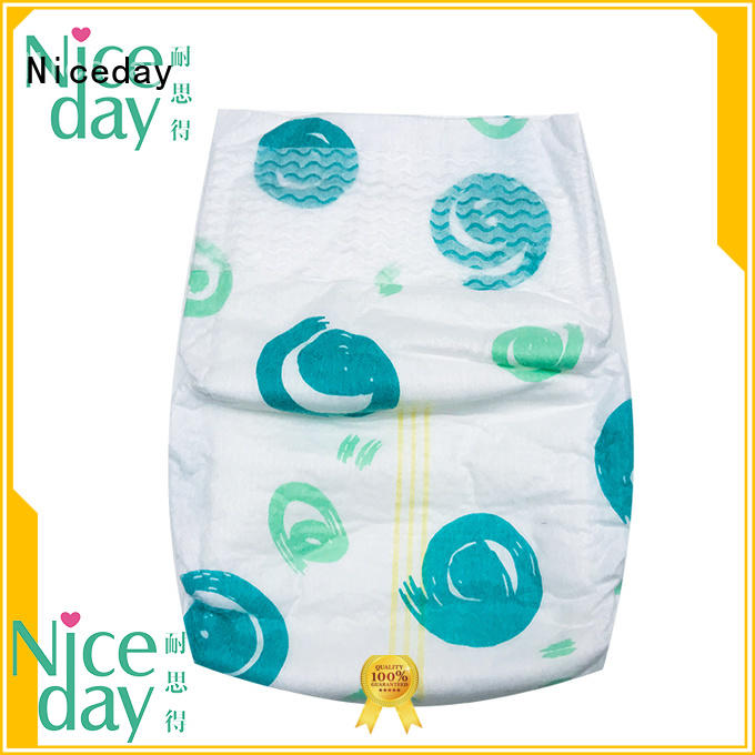 Niceday surperior best diapers material for baby