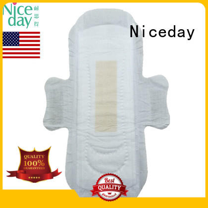 OEM sanitary napkin daytime lady care biodegradable anion sanitary pad hot sell in USA NDGenial-1-2-Niceday
