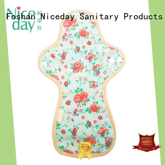 Niceday hygiene reusable period pads cotton for ladies
