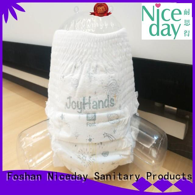 Niceday production ultra absorbent sanitary pads order for baby