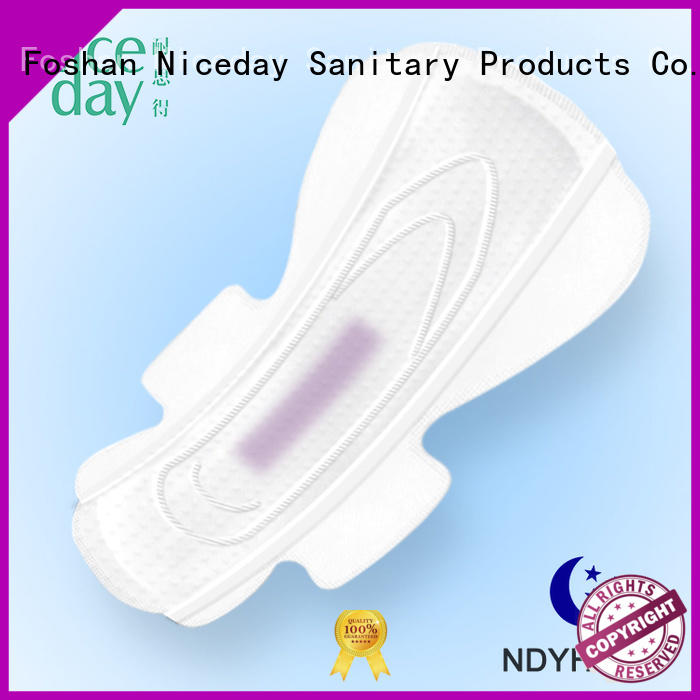 absorbent feminine pads perforated name for ladies