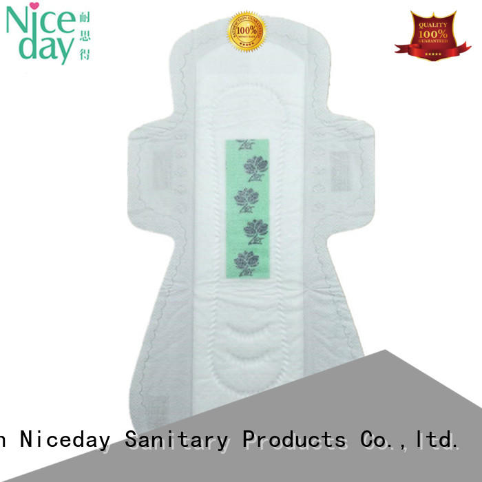 Niceday black best sanitary pads private for feminine