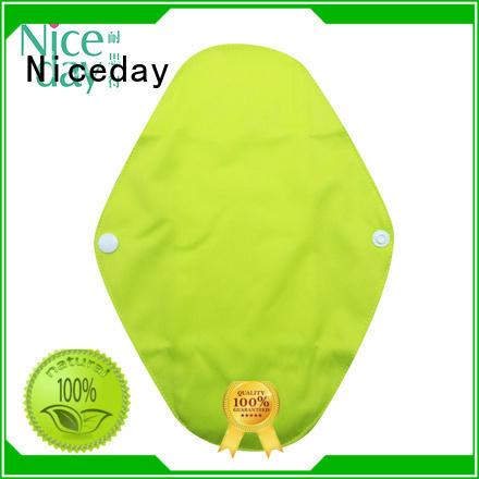 Niceday name reusable sanitary napkins organic for girl