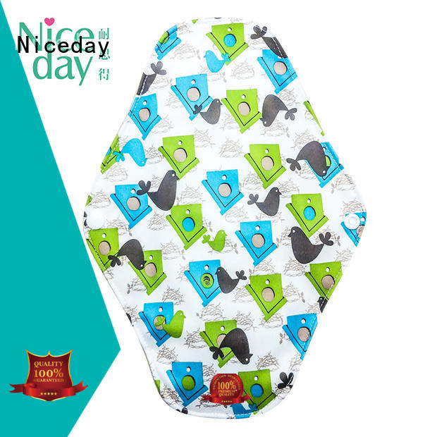 Niceday manufacturing reusable period pads amazing for ladies