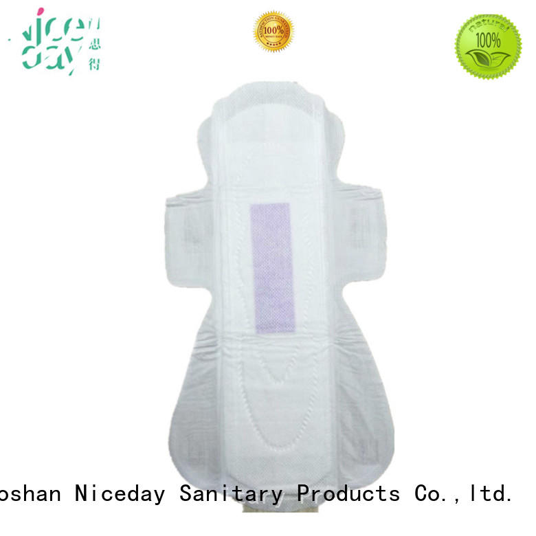 Niceday label best menstrual pads carefree for girls