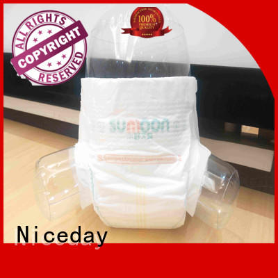 Niceday softcare free baby diapers super for baby girl