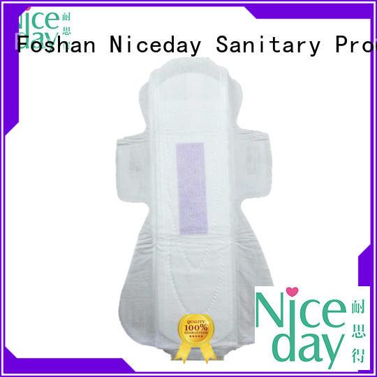 Niceday oem feminine pads label for ladies
