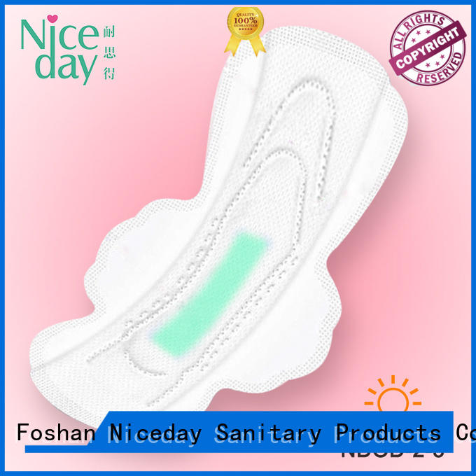 Buying in bulk wholesale sanitary towels different types of sanitary pads sanitary napkin raw material panty liners manufacturer NDOD-2-3-Niceday