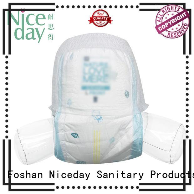 Niceday biodegradable newborn baby diapers organizer for baby boy