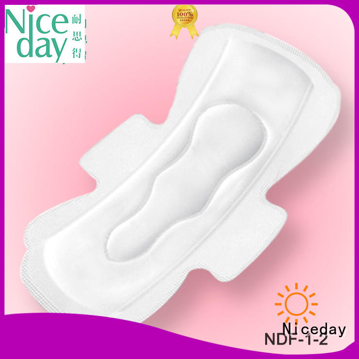 competitive cotton sanitary pads pulp for ladies Niceday