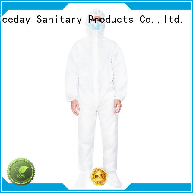 Niceday good quality disposable protective wear company for hospital