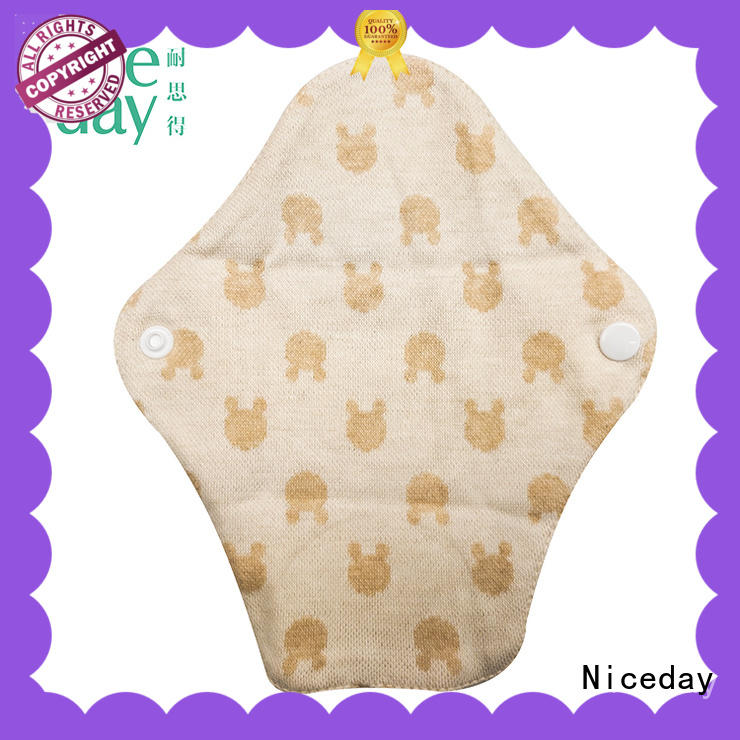 Niceday sanitary reusable menstrual pads low for girl