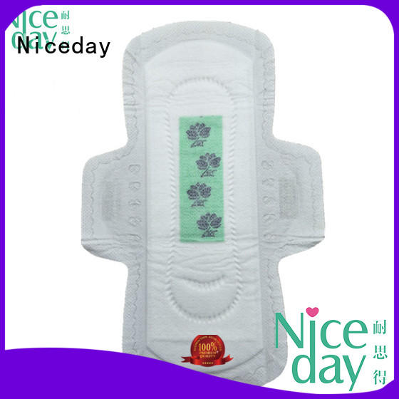 Niceday disposal girls pad material for girls