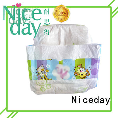 Niceday oem organic baby diapers disposable accept for baby girl