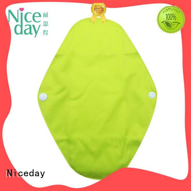 sanitary reusable menstrual pads printed organic for girl