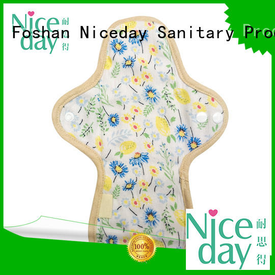 sanitary best reusable pads natural bamboo for girl