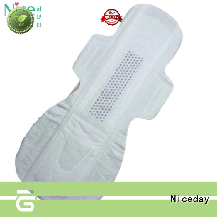 OEM herbal sanitary pads overnight lady care sanitary pad with stereoscopic wings NDLTHW-1-5-Niceday