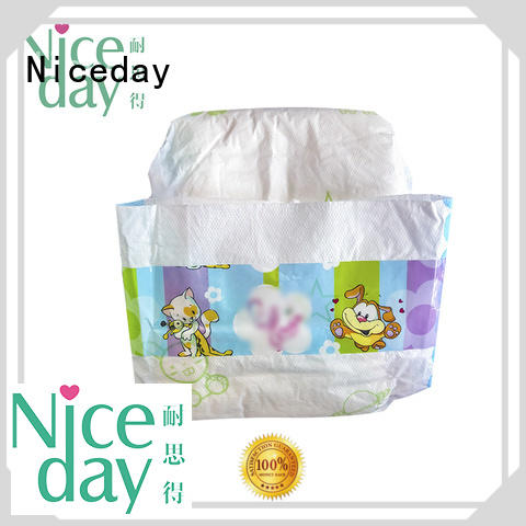 Niceday biodegradable newborn baby diapers nappies for baby boy