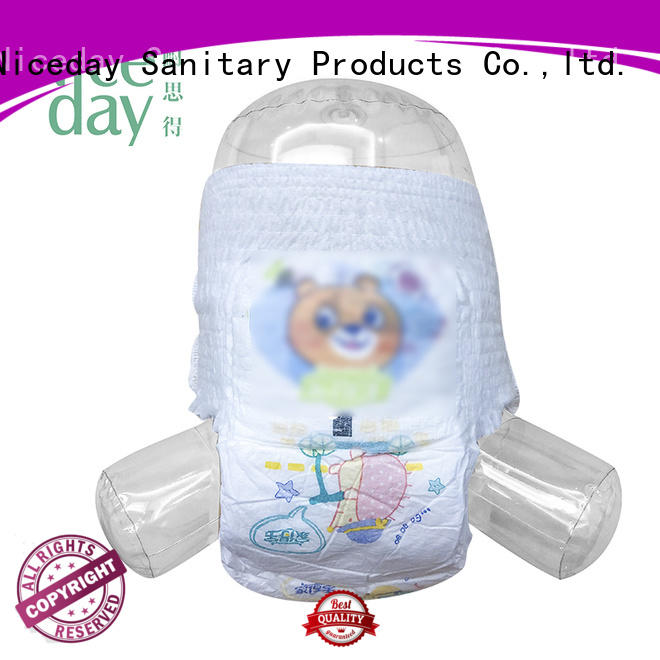 Niceday biodegradable newborn nappies sleeping for baby boy