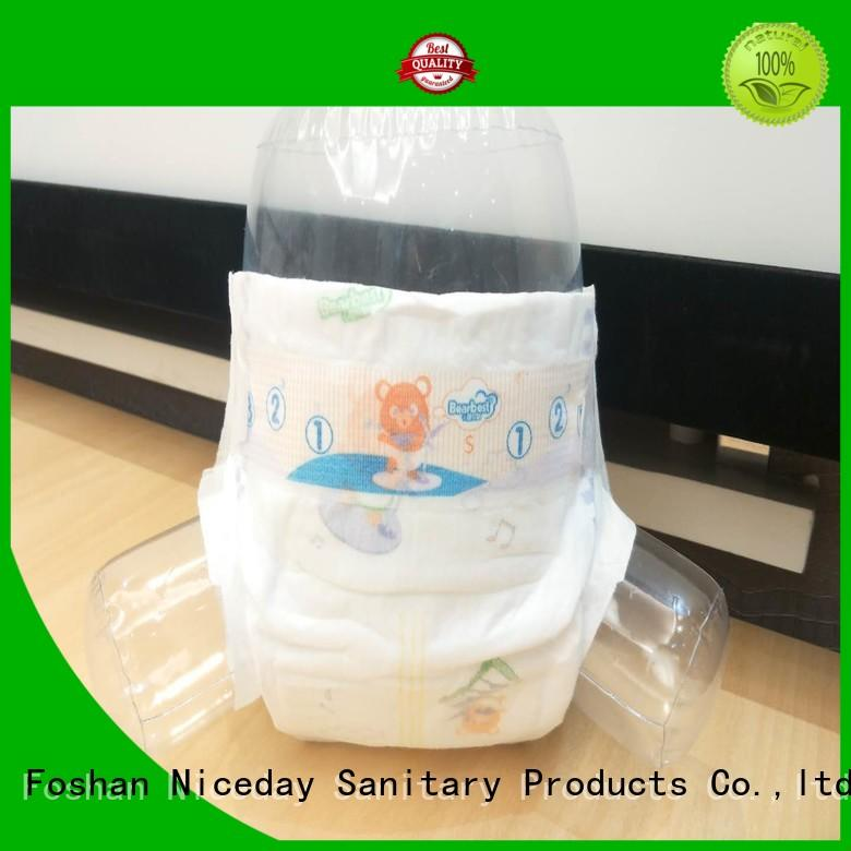 Niceday sleepy cheap baby diapers production for baby boy