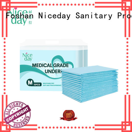 Niceday baby disposable bed pads customize for adult