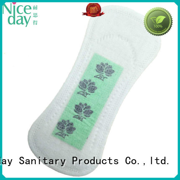 Niceday graphene thin pads for periods label for feminine