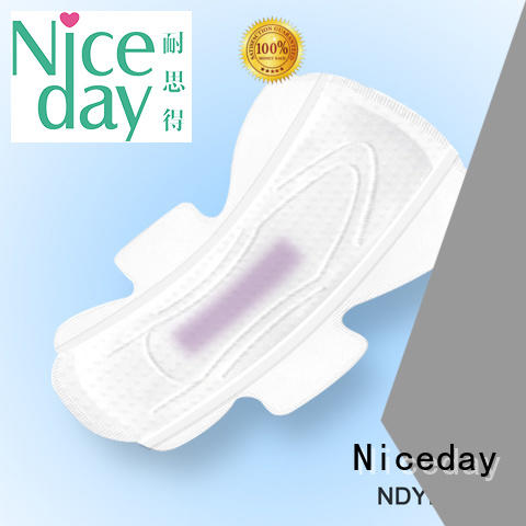 Niceday purple natural sanitary products organic for women