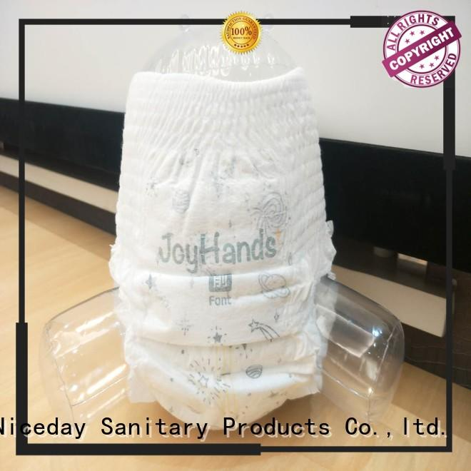 Niceday proof low cost sanitary napkins line for infant