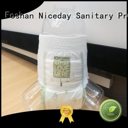 Niceday cotton low cost sanitary napkins price for absorption