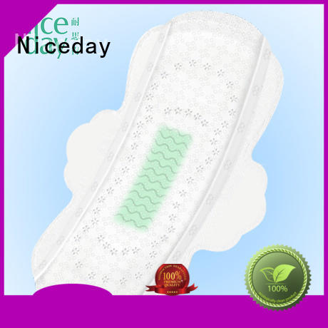 Niceday black sanitary pads brands samples for women