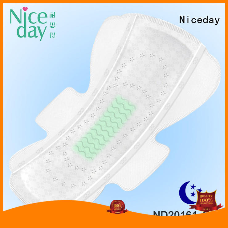 Niceday label cotton sanitary pads long for girls