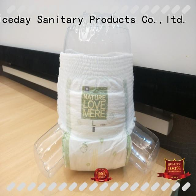 Niceday leak low cost sanitary napkins production for absorption
