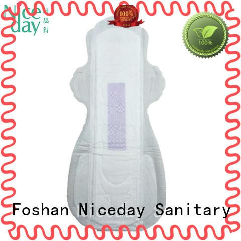 Niceday luxury sanitary napkin manufacturing for period
